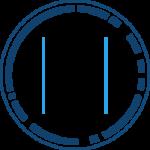 SOC Suite icon dark blue and black