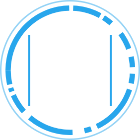 SOC 2 icon blue and white
